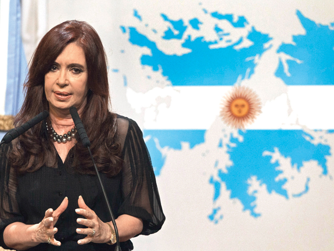 La presidenta argentina, Cristina Fernndez, ha llamado a los britnicos a dialogar.