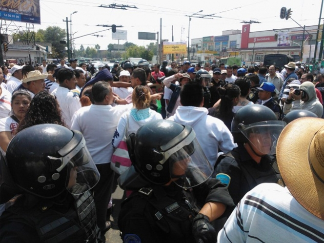 Detienen a cuatro presuntos agresores a delegado de Iztapalapa