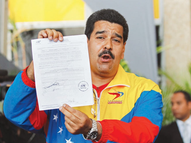 Maduro y Capriles ya son candidatos para los comicios en Venezuela