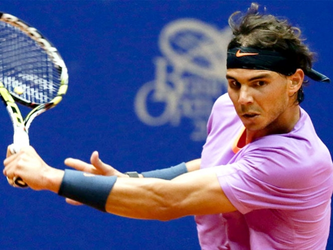 Rafa cumple el trmite, vence en dos sets a Mayer