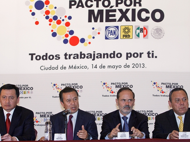 Acuerda Pacto por Mxico evitar entrega de recursos en entidades electorales 