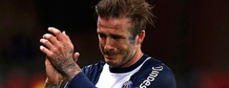 Beckham juega su ltimo partido, se va entre lgrimas 