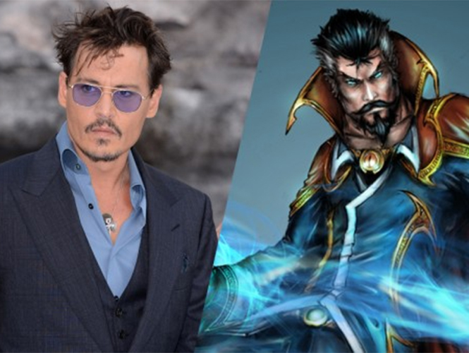Johnny Depp para personaje Marvel